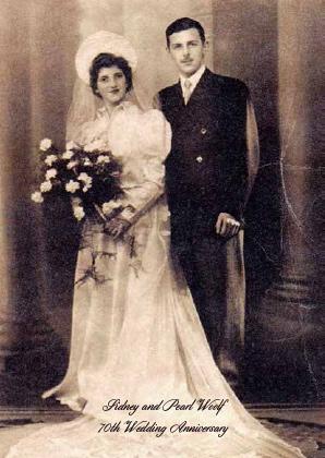 70th Wedding Anniversary Bencher