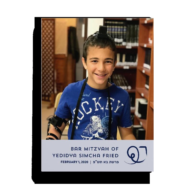 Bar Mitzvah Boy Tefillin