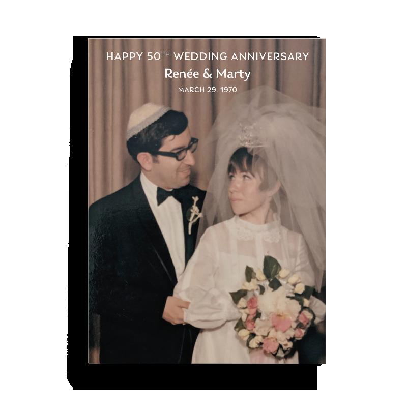 50th Wedding Anniversary Bencher