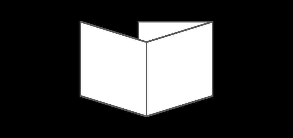 #Three Panel Square Bencher Card